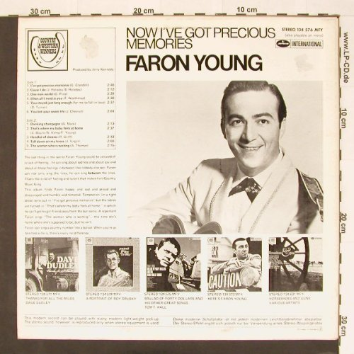 Young,Faron: I've got Precious Memories, Mercury(134 576 MFY), NL, 69 - LP - B9996 - 9,00 Euro