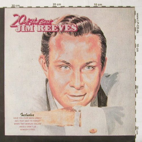 Reeves,Jim: 20 Of The Best, RCA(NL 89852), D, 86 - LP - C2428 - 4,00 Euro