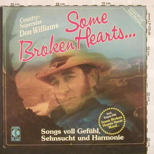 Williams,Don: Some Broken Hearts, K-tel(TG 1311), D, 81 - LP - C246 - 5,00 Euro