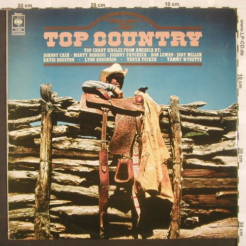 V.A.Top Country: 11 Tr., CBS(31 488), UK, 77 - LP - C259 - 5,00 Euro