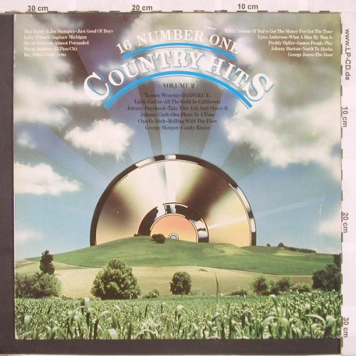 V.A.16 Number One Country Hits 2: 15 Tr., CBS(31805), UK, 80 - LP - C3568 - 5,00 Euro