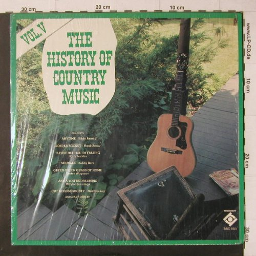 V.A.The History of Country Music: Vol.V, 15 Tr., Radiant(RRC-1015), US,  - LP - C4746 - 5,00 Euro
