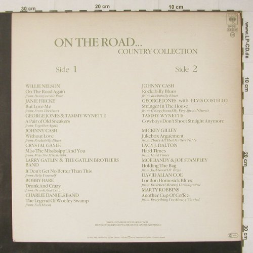 V.A.On The Road...: 16 Tr., CBS(84961), NL, 1981 - LP - C4753 - 5,00 Euro