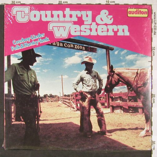 Sprangers,Jackie / Michael,Sammy: Country & Western, FS, Auditon(6.23745), D, 1979 - LP - C6667 - 5,00 Euro