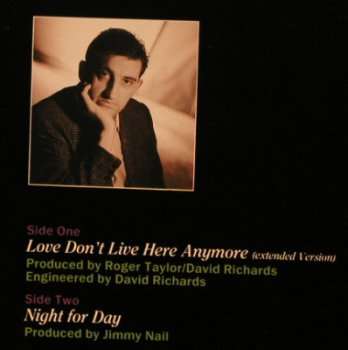 Nail,Jimmy: Love Don't Live Here Anymore+1, Virgin(601 875-213), D, 1985 - 12inch - C8182 - 2,00 Euro