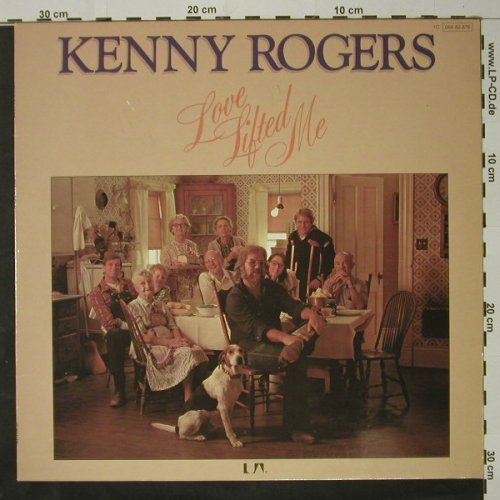 Rogers,Kenny: Love Lifted Me, UA(064-82 876), D, 1975 - LP - C8588 - 5,00 Euro