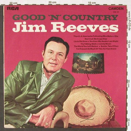 Reeves,Jim: Good 'n'  Country, Ri,  Mono, RCA(CDM 1075), UK, 1970 - LP - C9107 - 5,50 Euro