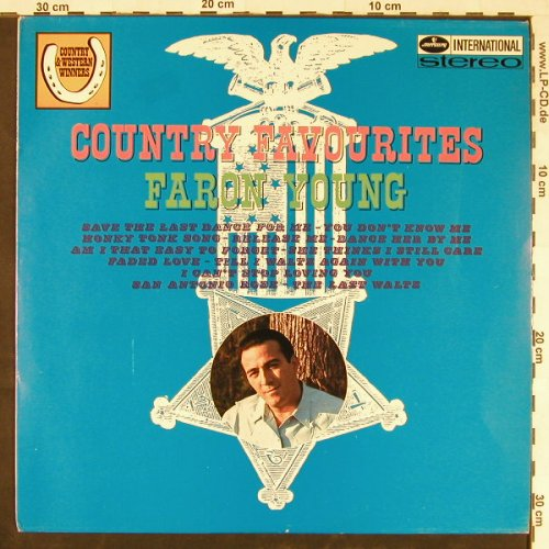 Young,Faron: Country Favourites, Mercury(134 55 MFY), NL,  - LP - E1831 - 9,00 Euro