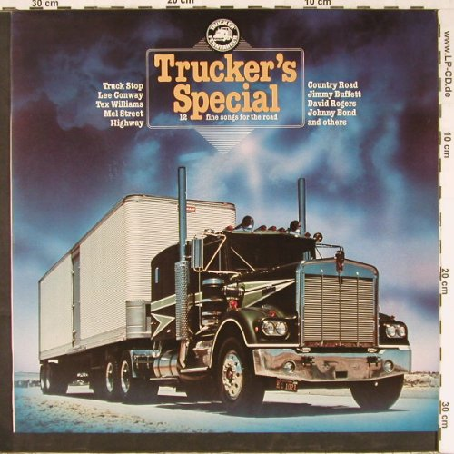 V.A.Trucker's Special: Truck Stop...Sons of the Pioneers, Telefunken(6.24145 AO), D,12Tr.,  - LP - E2690 - 4,00 Euro