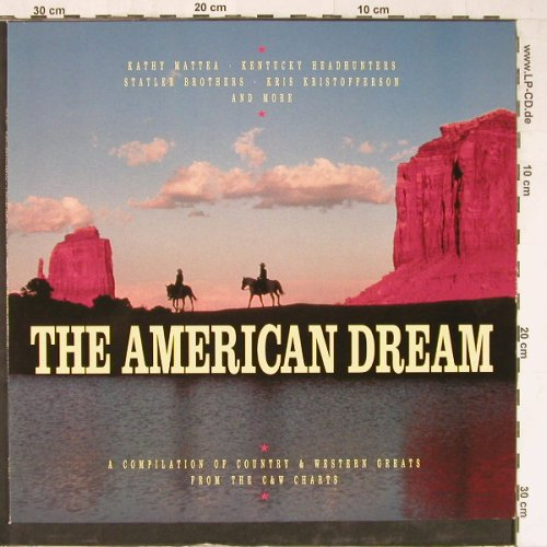 V.A.The American Dream: A Compilation of Country...14 Tr., Mercury(846 996-1), D, 1990 - LP - E3804 - 4,00 Euro