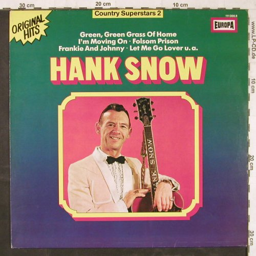 Snow,Hank: Country Superstars 2, Europa(111 308.9), D,  - LP - E5935 - 5,00 Euro