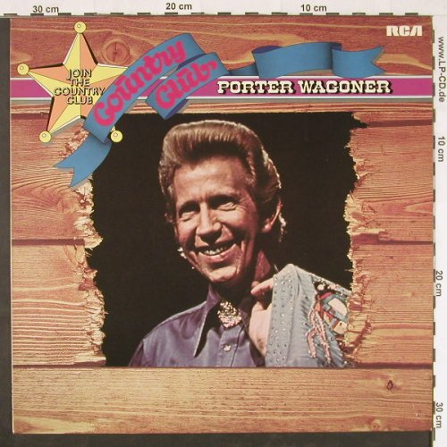 Wagoner,Porter: Country Club - The Hits Of, RCA(26.21719 AO), D, 1976 - LP - E739 - 5,00 Euro