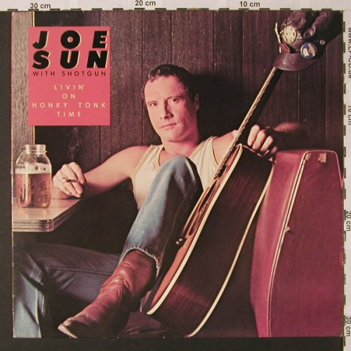 Sun,Joe with Shotgun: Livin'On Honky Tonky Time, Ovation(INT 146.218), D, 1980 - LP - E9133 - 5,00 Euro
