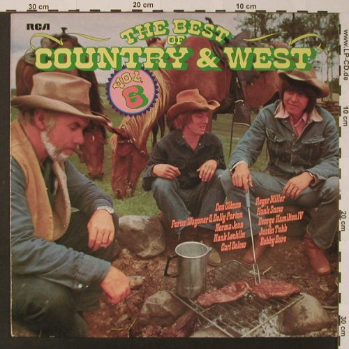 V.A.The Best Of Country & Western: Vol.6, RCA(26.21527), D, 1975 - LP - F2622 - 4,00 Euro