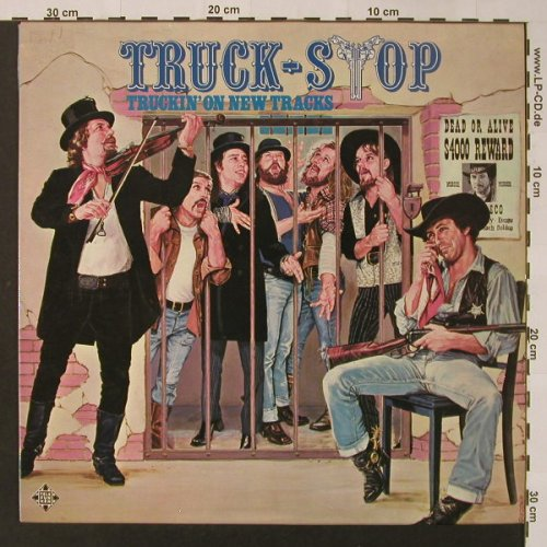 Truck Stop: Truckin'on New Tracks, Telefunken(6.22407 AS), D, 1976 - LP - F3186 - 5,50 Euro