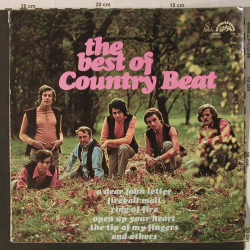 Country Beat: The Best of, m-/vg -, Supraphon(1 13 1139), CZ, 1972 - LP - F4513 - 5,00 Euro