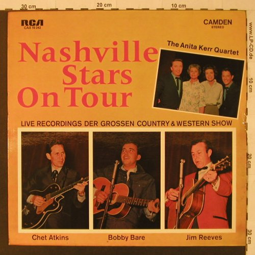 V.A.Nashville Stars on Tour: Live Recordings der gr.Country..., RCA Camden(CAS 10 242), D,  - LP - F5686 - 5,00 Euro