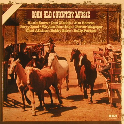 V.A.Good Old Country: Hank Snow,Don Gibson,Jim Reeves.., RCA(NL 89145 (2)), D, Foc,Ri, 1974 - 2LP - F6343 - 5,50 Euro