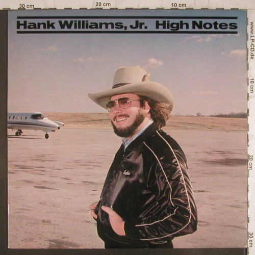 Williams,JR., Hank: High Notes, vg+/m-, WB(E1-60100), US, 1982 - LP - F6347 - 4,00 Euro