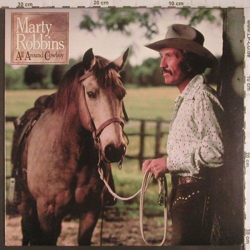 Robbins,Marty: All Around Cowboy, CBS(36085), US, 1979 - LP - F6350 - 5,00 Euro