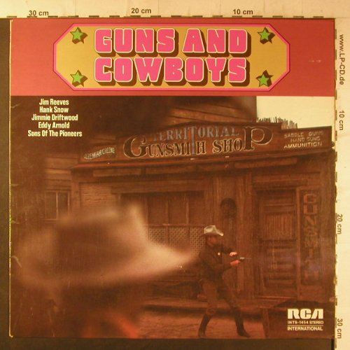 V.A.Guns and Cowboys: Hank Snow..Eddy Arnold, RCA International(INTS 1454), D, 1973 - LP - F6617 - 4,00 Euro