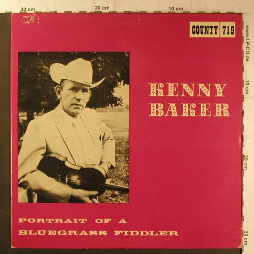 Kenny,Baker: Portrait of a Bluegrass Fiddler, Country(719), US, m-/vg+, 1968 - LP - F6636 - 9,00 Euro