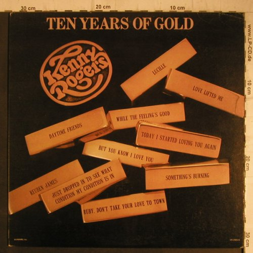 Rogers,Kenny: Ten Years Of Gold, UA(LA-835-H), US, 1977 - LP - F7409 - 6,00 Euro