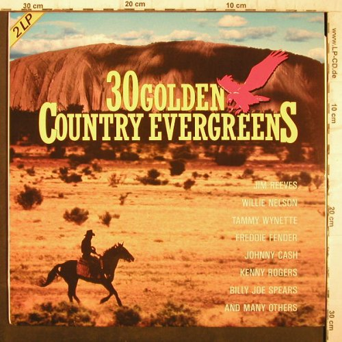 V.A.30 Golden County Evergreens: Freddie Fender..Jim Reeves, SR(15 192 8), D,  - 2LP - F9195 - 5,00 Euro
