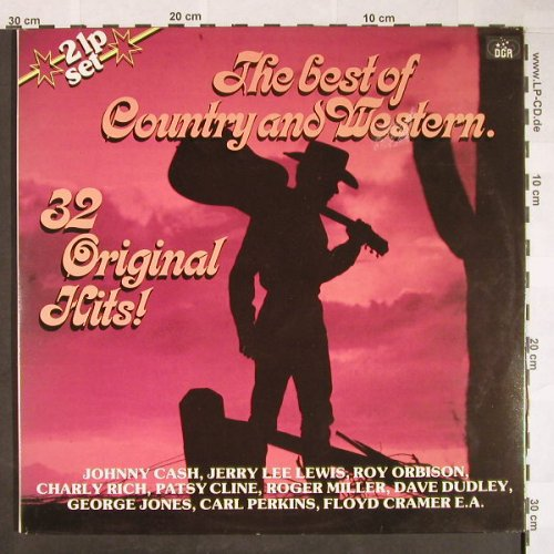 V.A.The Best Of Country And Western: 32 Original Hits, Foc, DGR(VR 55190), NL, 1982 - 2LP - F9983 - 6,00 Euro