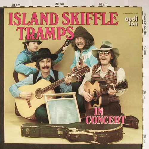 Island Skiffle Tramps: In Concert, vg+/vg+, Audi Ton(909-2-12 1011), D, 1972 - LP - H2201 - 5,00 Euro