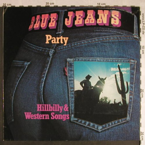 V.A.Blue Jeans Party: Hillbilly & Westen Songs, m-/vg+, SR(64 995), D, stol, 1974 - LP - H264 - 4,00 Euro