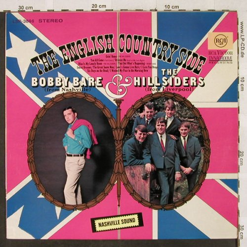 Bare,Bobby & the Hillsiders: The English Country Side, RCA(LSP-3896), D, 1967 - LP - H3077 - 7,50 Euro