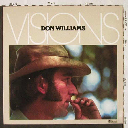 Williams,Don: Visions, ABC DOT(28 553 XOT), D, 1977 - LP - H3085 - 6,50 Euro