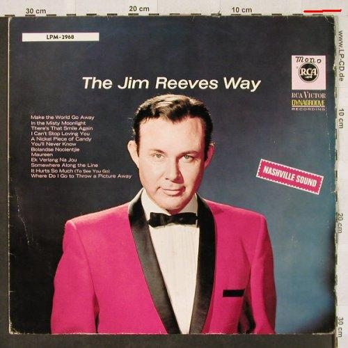 Reeves,Jim: The Jim Reeves Way, m-/vg-, RCA(LPM-2968), D,  - LP - H3089 - 7,50 Euro