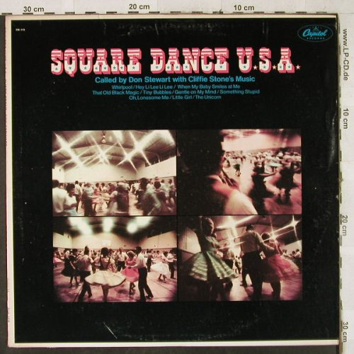 Stone's Music,Cliffie & Don Stewart: Square Dance USA, Capitol(SM-112), US,  - LP - H3522 - 7,50 Euro