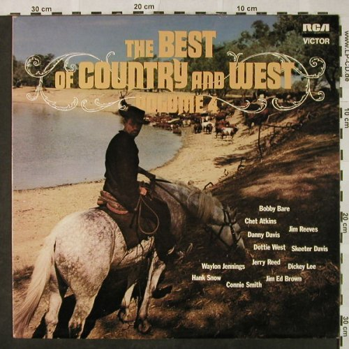 V.A.The Best of Country and West: Vol.4-Jim Reeves...Hank Snow, RCA Victor(26.21189), D, 1972 - LP - H4831 - 4,00 Euro