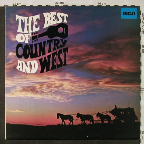 V.A.The Best Of Country And West: Vol.1-Charley Pride..Porter Wagoner, RCA Victor(26.21181), D, Ri, 1967 - LP - H4833 - 5,00 Euro