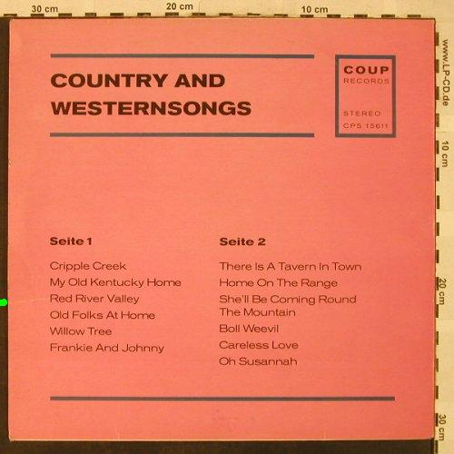 Little Ben and his Drivers: Country and Westernsongs, Coup Records(CPS 15611), D,  - LP - H5060 - 7,50 Euro