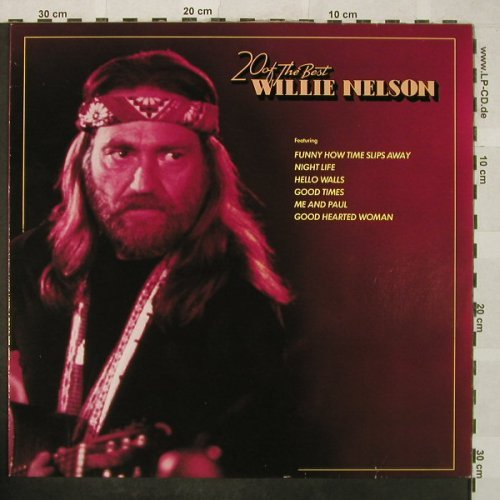 Nelson,Willie: 20 of the Best, RCA(NL 89137), D, Ri,  - LP - H5140 - 5,50 Euro