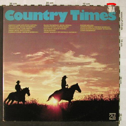 V.A.Country Times: Cash/Carter...Lynn Anderson, Foc, Dynamic House(BS 11799), US, m-/vg+, 1973 - 2LP - H5288 - 5,50 Euro
