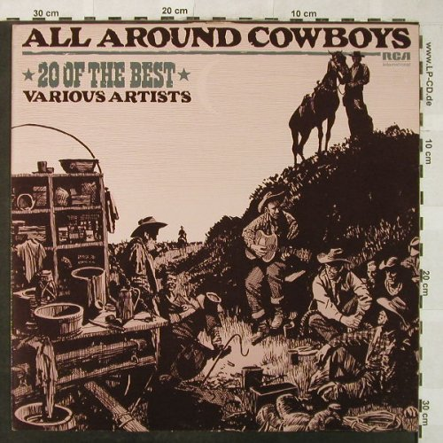 V.A.All Around Cowboys: 20o.t.Best-L.Green.NashvilleStringB, RCA International(INTS 5189), UK, 1982 - LP - H5293 - 5,00 Euro