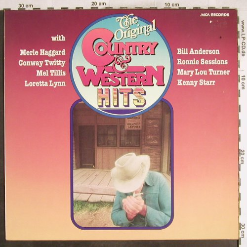 V.A.Original Country&Western Hits: Loretta Lynn...Ronnie Session, MCA(0062.129), D,16 Tr.,  - LP - H7231 - 4,00 Euro