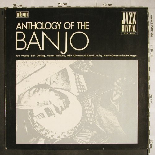 V.A.Anthology of the Banjo: Mason Williams...Billy Cheatwood, Bellaphon(BJS 4036), D,  - LP - H9295 - 6,50 Euro