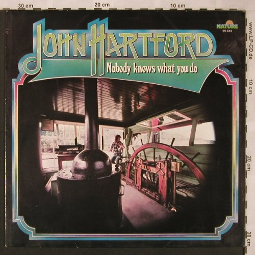 Hartford,John: Nobody Knows What You Do, Nature(69.044), D, 1976 - LP - X1999 - 6,00 Euro