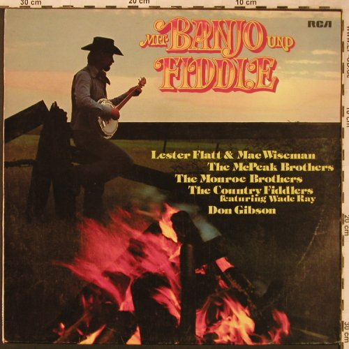 V.A.Mit Banjo und Fiddle: McPeak Brothers, Lester Flat..., RCA International(26.21528 AF), D, 1975 - LP - X2030 - 5,50 Euro