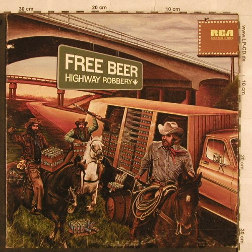 Free Beer: Highway Robbery, co, RCA(APL1-1733), US, 1976 - LP - X244 - 6,00 Euro
