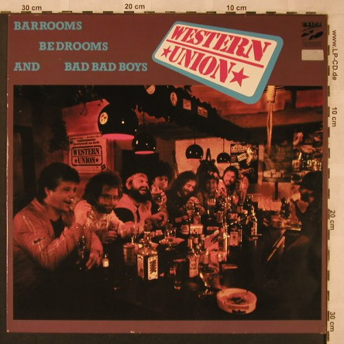 Western Union: Barrooms,Bedrooms and Bad Bad Boy, Extra Rec.(EX 10 019), D, 1986 - LP - X2473 - 7,50 Euro