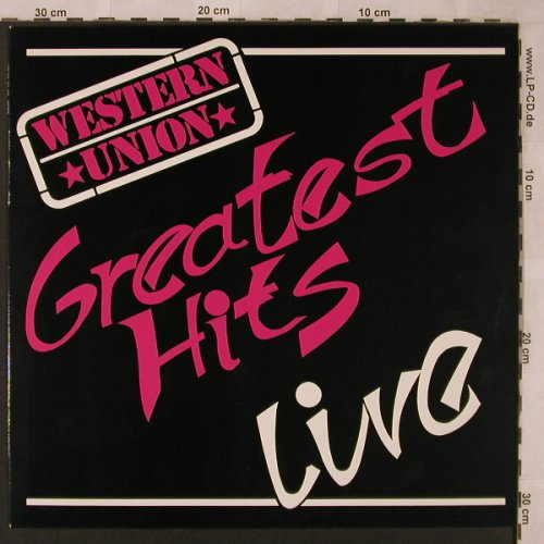 Western Union: Greatest Hits - Live, Extra Rec.(EX 76.42001), D, 1987 - LP - X2474 - 7,50 Euro