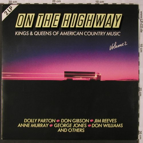 V.A.On The Highway - Kings&Queens: Vol.2-Don Gibson..Don Williams, SR(63 867 6), EEC,  - 2LP - X2737 - 6,00 Euro