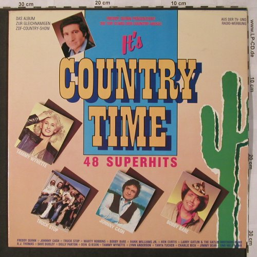 V.A.It's Country Time: 48 Superhits, CBS(450053 1), NL, 1986 - 3LP - X2914 - 7,50 Euro